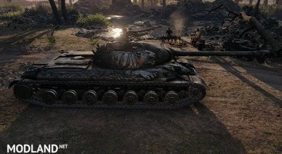 "WZ-111 Skin ""Alpine Tiger"" 1.0.0.3 [1.0.0.3], 3 photo"